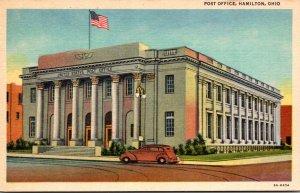 Ohio Hamilton Post Office Curteich