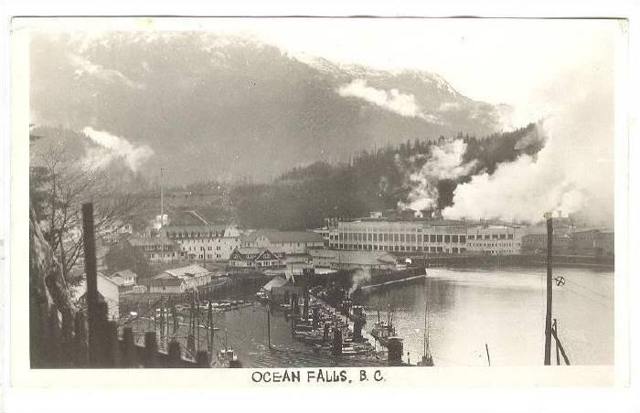 RP,Scenic view,Ocean Falls, B.C. Canada,PU-20-40s
