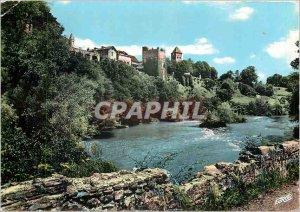 Postcard Modern Sauveterre de Bearn (B Pyr) The Church and the Dungeon Monrea...