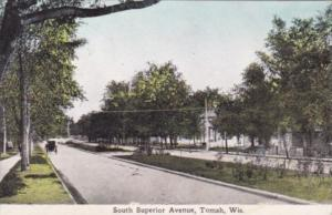 Wisconsin Tomah South Superior Avenue 1912