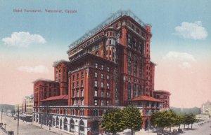 VANCOUVER, British Columbia, Canada, 1900-1910s; Hotel Vancouver