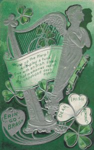 ST PATRICK'S DAY ; Irish Harp , 1911