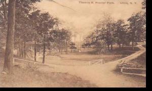 New York Utica Thomas R Proctor Park Albertype