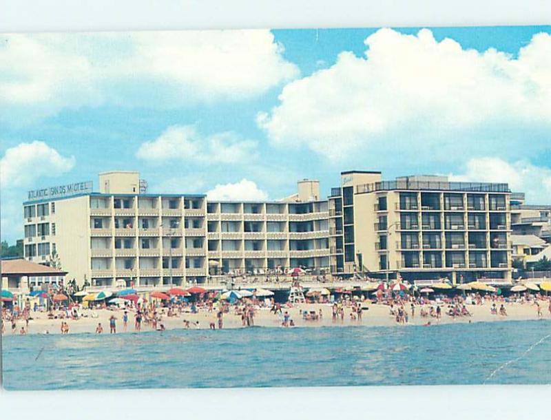 1980 S Atlantic Sands Motel Rehoboth Beach Delaware De B3743