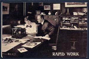 'Rapid Work' Office/Secretary unused c1910's