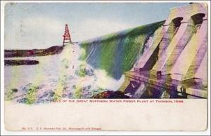 Falls, Great Northern Power Plant, Thomson Minn