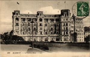 CPA BIARRITZ Le Carlton Hotel (411742)