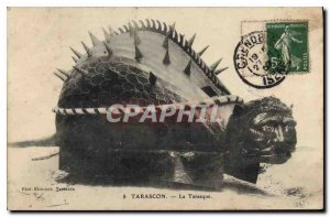 Old Postcard Tarascon Tarasque
