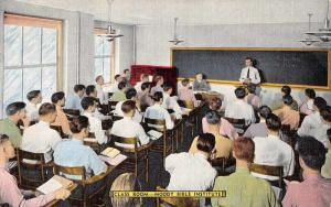 Chicago Illinois Moody Bible Institute Antique Postcard J48601