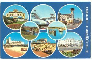 UK, Great Yarmouth, 1983 used Postcard