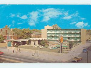 Unused Pre-1980 OLD CARS & QUALITY MOTEL CLARMONT Columbus Ohio OH n9569