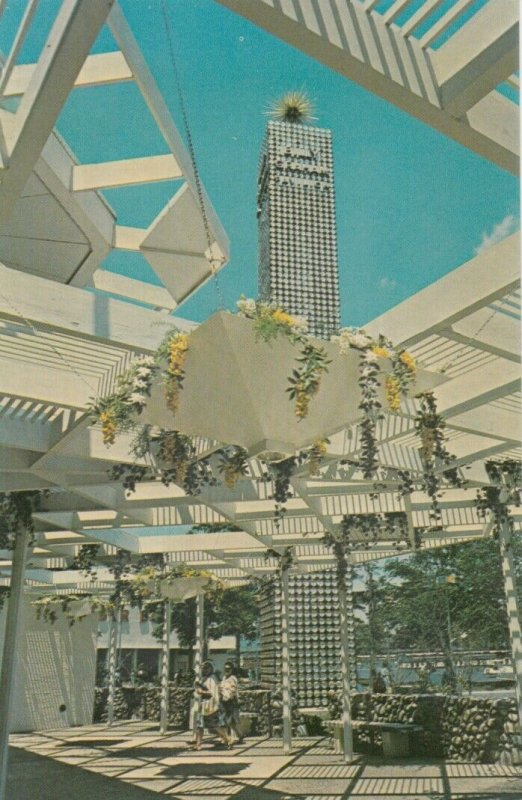 New York World's Fair , NYC , 1964-65 ; In The Pavilion Courtyard