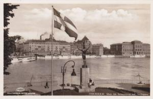 RP; Motiv fran Stromparterren med Solsangarten, STOCKHOLM, Sweden, 10-20s
