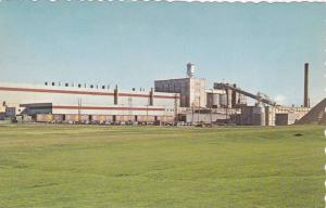 Exterior View of Gaspesia Pulp and Paper Co, Chandler, Quebec, Canada, PU-1971