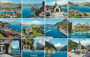 Switzerland Vierwaldstaettersee Multi View