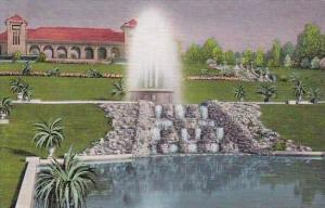 Missouri Saint Louis Rest House And Electric Fountain In Forest Park
