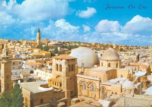Israel Jerusalem Partial view of the Old City, Church of the Holy Sepulchre