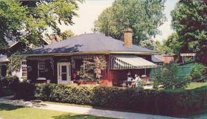 Historic century-old birthplace of Marie Dressler,  Dryden, Ontario,  Canada,...
