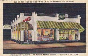 Kents Restaurant Midtown Pacific Avenue Atlantic City New Jersey 1946 Curteich
