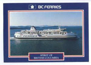 FE1478 - Canadian BC Ferry - Spirit of British Columbia , built 1993 - postcard