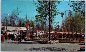 North Dartmouth, Mass. Amusement Park Postcard LINCOLN PARK Kiddie Wonderland