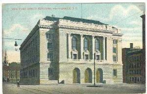 New Post Office Building, Providence, Rhode Island, PU-1908