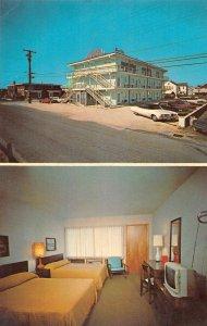 Rehoboth Beach Delaware Sea-Esta Motel Vintage Postcard AA36832