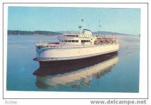 Ferry Ships M.V.TSAWWASSEN & M.V.SIDNEY,B.C.Toll Authority Ferry System,Victo...