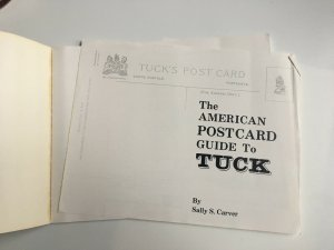 The American Postcard Guide to TUCK by Sally S Carver Paperback 1980
