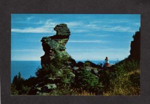 QC Gaspe La Gaspesie Cap Chat Lighthouse Quebec Canada Carte Postale Postcard