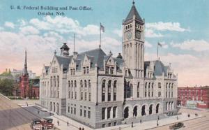 Nebraska Omaha United States Federal Building & Post Office Curteich