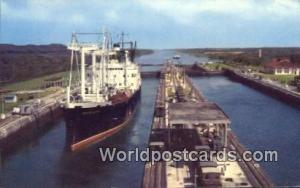 Panama Panama Canal Grace Line Vessel, Gatun Locks