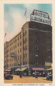 ST. CATHARINES , Ont. , Canada , 1930s ; Hotel Leonard