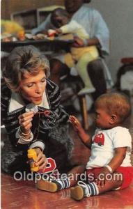 University of Mississippi Medical Center Postcard Nancy Reagan