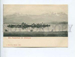 3171946 GERMANY Die FRAUENINSEL im CHIEMSEE Vintage postcard