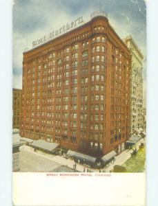 Divided Back GREAT NORTHERN HOTEL Chicago Illinois IL HQ4940