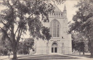University Chapel Princeton University Princeton New Jersey Albertype