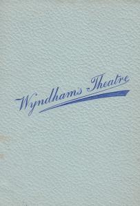 The Lady Of Leeds Yorkshire Romance Wyndhams London Theatre Programme