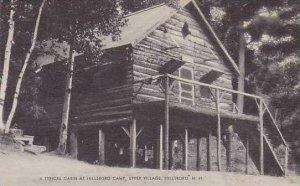 New Hampshire Hillsboro Upper Village Hillsboro Camp Typical Cabin Artvue