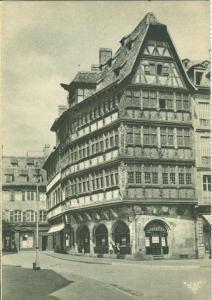 France, Strasbourg, La Maison Kammerzell, early 1900s