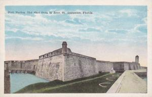 Fort Marion, Hot Shot Oven In Rear, St. Augustine, Florida, 10-20s