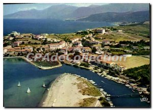 Modern Postcard Corsica Saint Florent View Of Port And His Magnificent Gulf