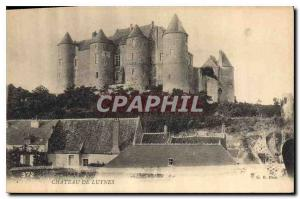 Postcard Old Chateau of Luynes