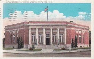 New Hamphire White Mountains United States Post Office Laconia 1930