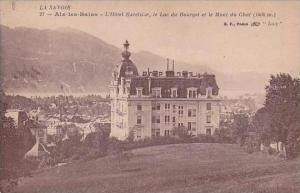 France Aix les Bains L'Hotel Excelsior 1918