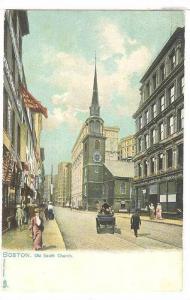TUCK 1069, Old South Church, BOSTON, Massachusetts, 00-10s