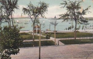 Maine Portland View From Eastern Promonade 1909