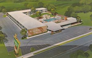 Aerial View, Swimming Pool, Holiday Inn, BLYTHEVILLE, Arkansas, 40-60's