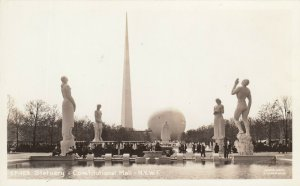 RP: New York World´s Fair 1930s ; Statuary ; Constitutional Mall