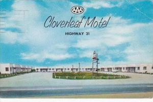 Alabama Clanton Cloverleaf Motel